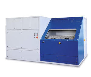 Pressure Load Change Test Bench with large test chamber for automotive testing